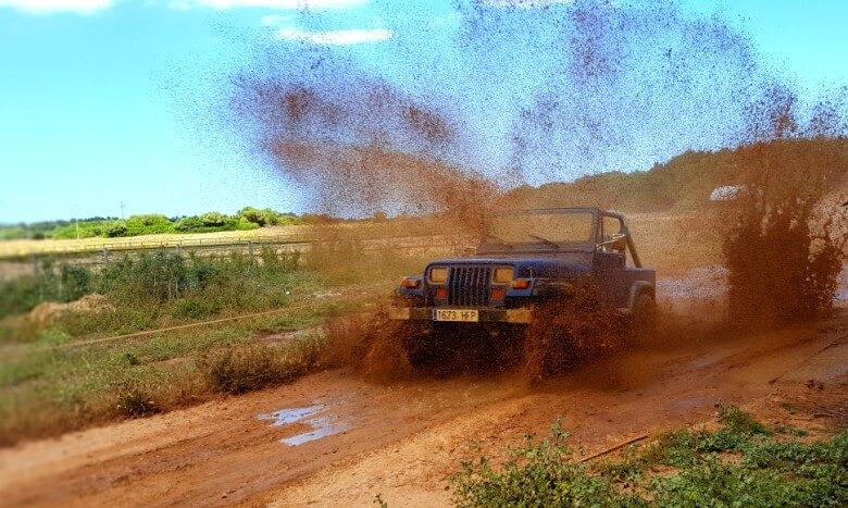 recorrer en jeep mallorca