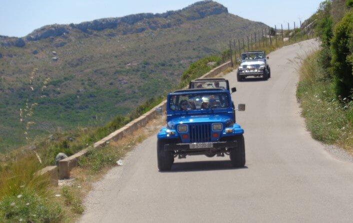 Recorriendo Mallorca en jeep 4x4