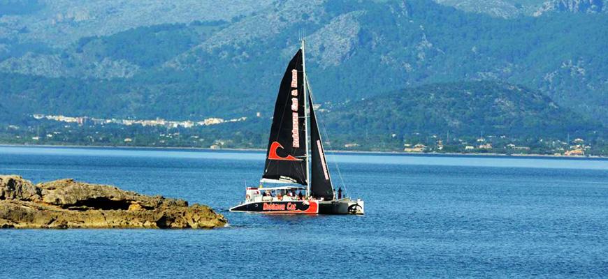Catamaran en Puerto Pollensa