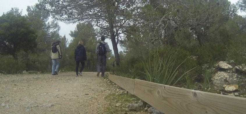 Caminando desde Lluc