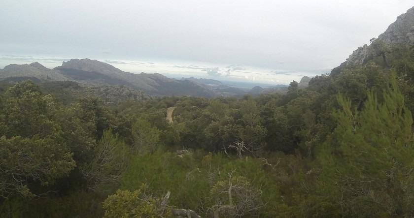 vista de la excursión