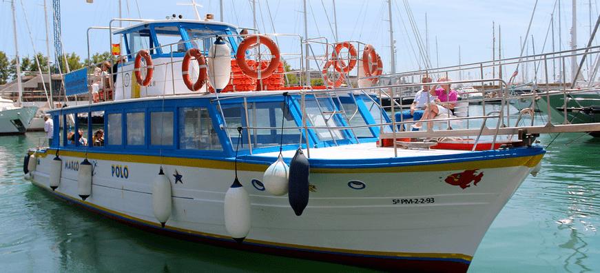 barco en palma de mallorca