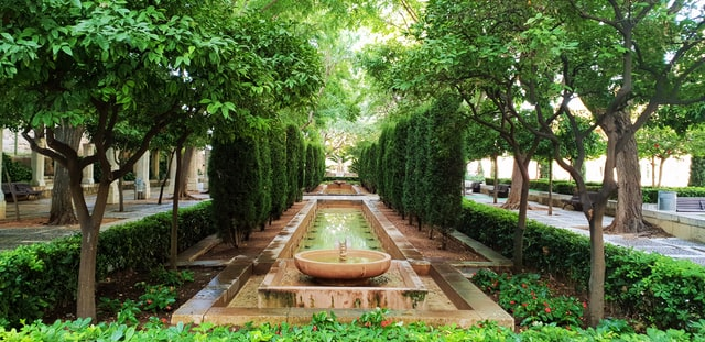 visitar en palma jardins del rei