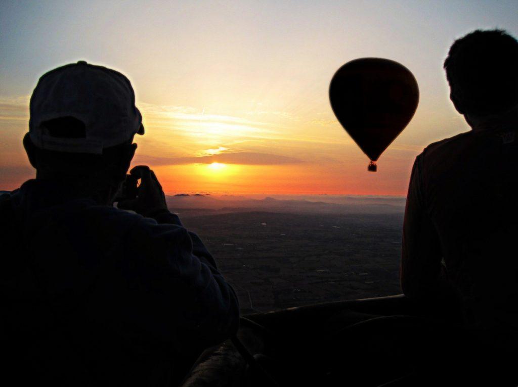 Vuelos en globo al amanecer