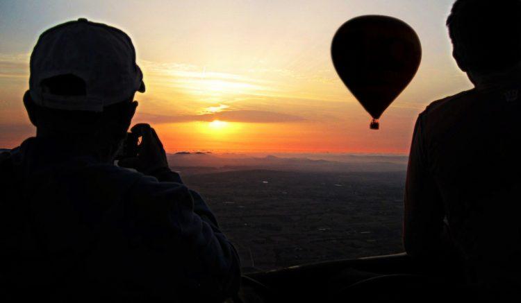 vuelo en globo en mallorca