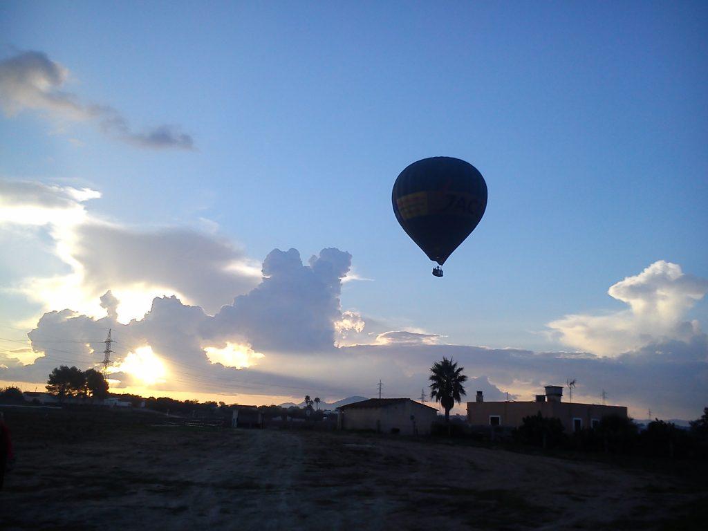 vuelos en globo en mallorca