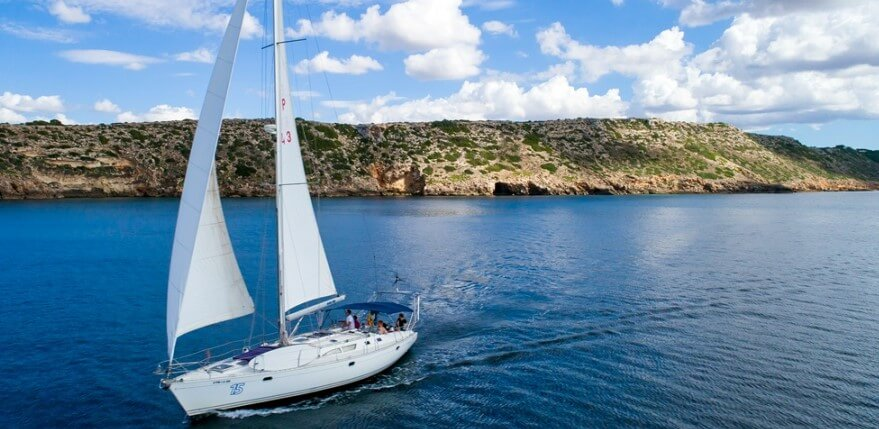 excursión velero en Mallorca