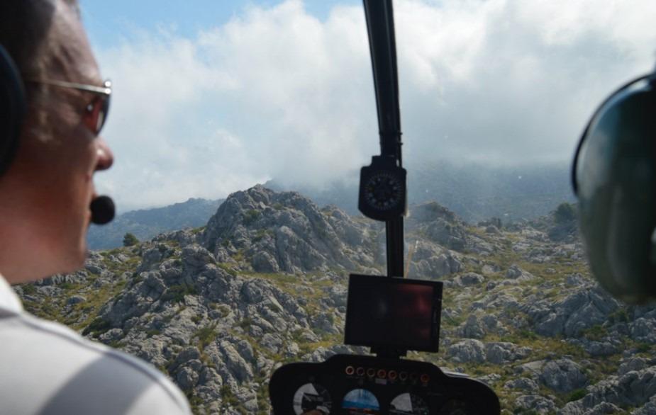 rutas en mallorca en helicóptero