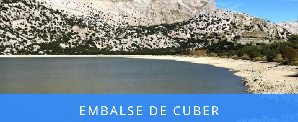 ruta senderismo embalse de Cuber